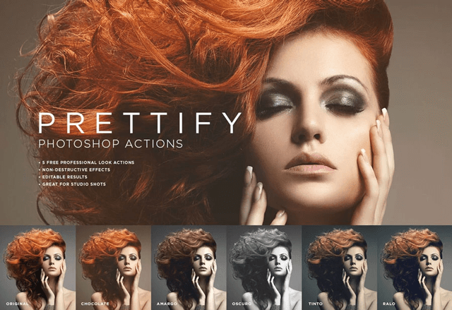 Prettify Photoshop Actions