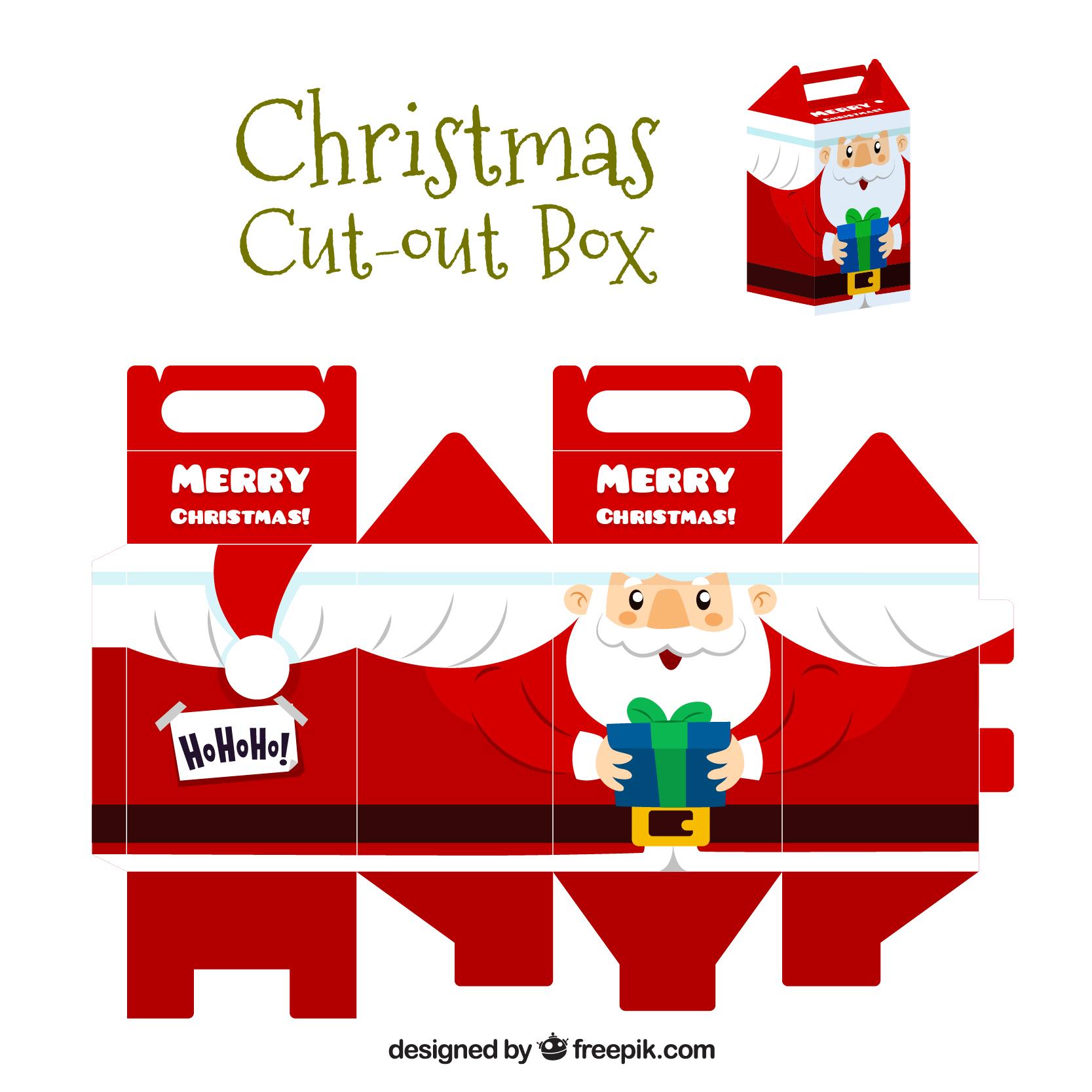 サンタのオリジナルギフトボックス