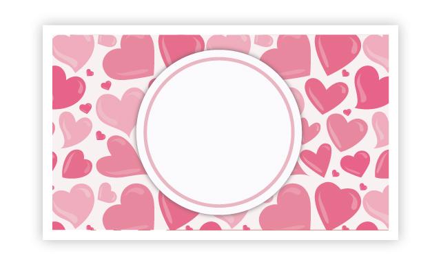 ハートいっぱい、想いもいっぱい!バレンタインメッセージカード