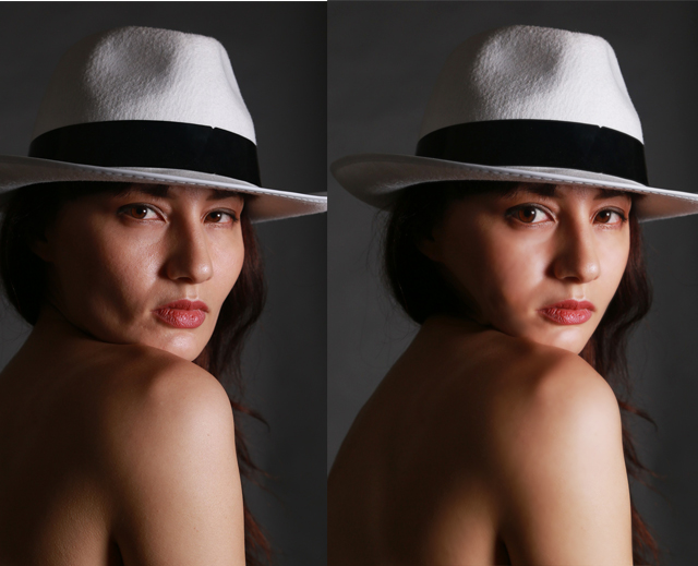 photoshopを使って美肌・美顔補正やってみた5