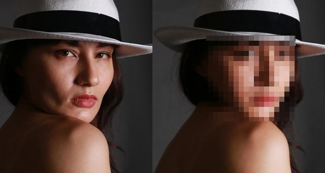 photoshopを使って美肌・美顔補正やってみた