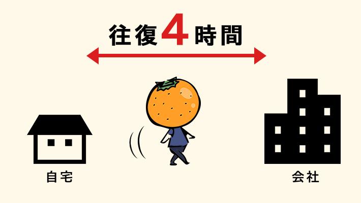 【ふるさとワーク】地方民 怒りの通勤時間4時間ロード